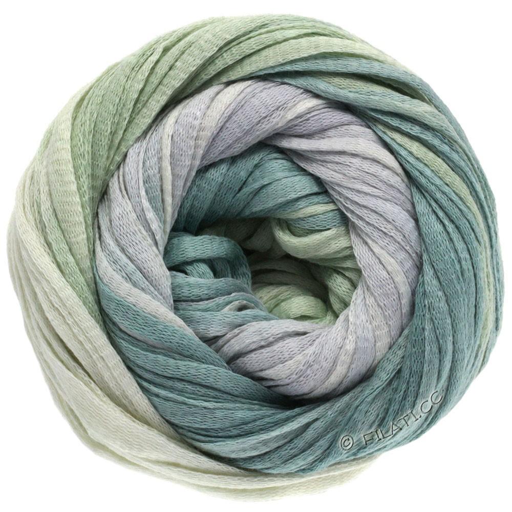 Lana Grossa PRIMAVERA | 109-natural/silver gray/gray green/pastel green