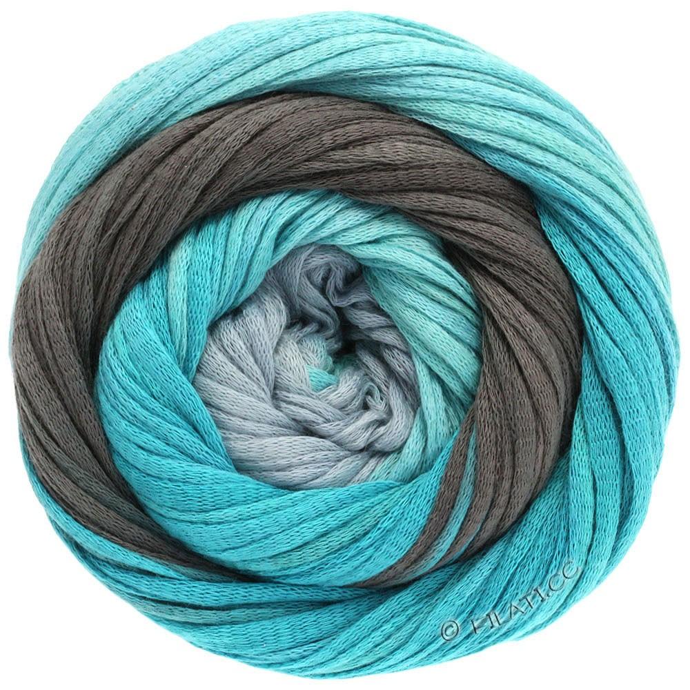 Lana Grossa PRIMAVERA | 113-white/gray/mint/turquoise/petrol