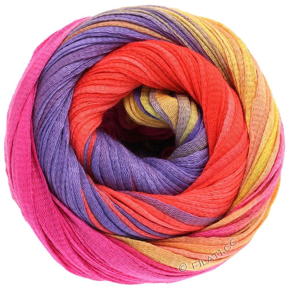 Lana Grossa PRIMAVERA | 114-yellow/pumpkin/pink/violet