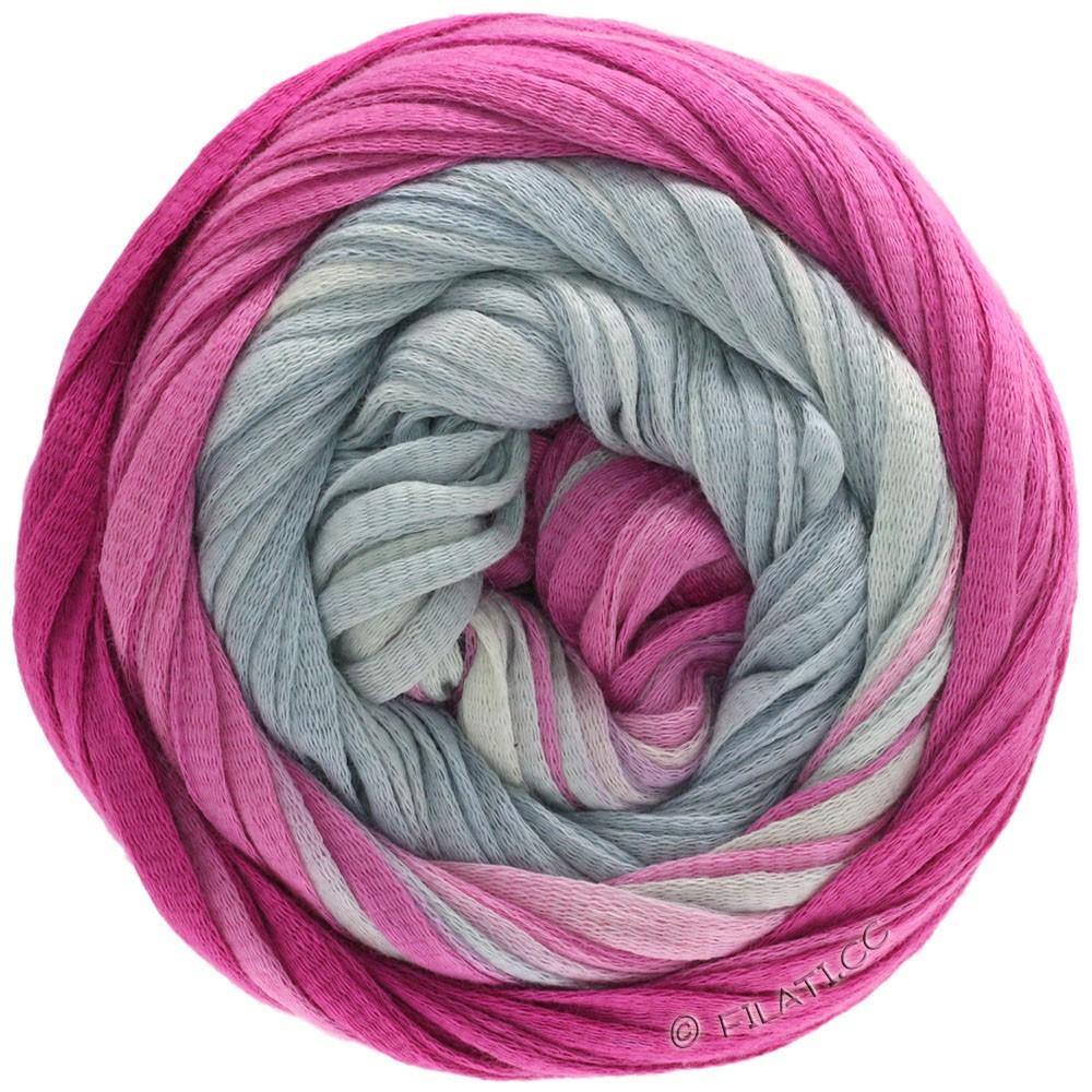 Lana Grossa PRIMAVERA | 201-silver gray/gray white/subtle lilac/cyclamen