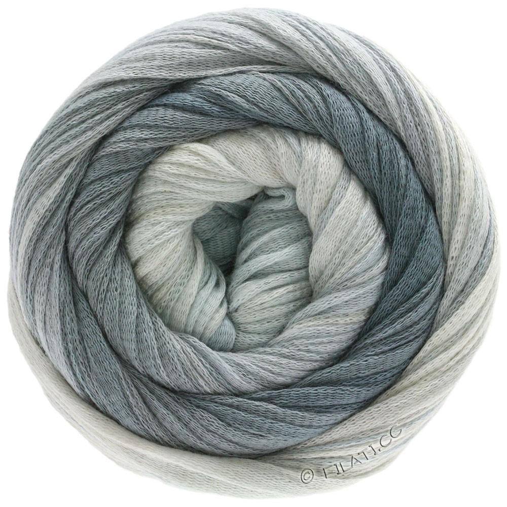 Lana Grossa PRIMAVERA | 205-gray white/silver gray/gray