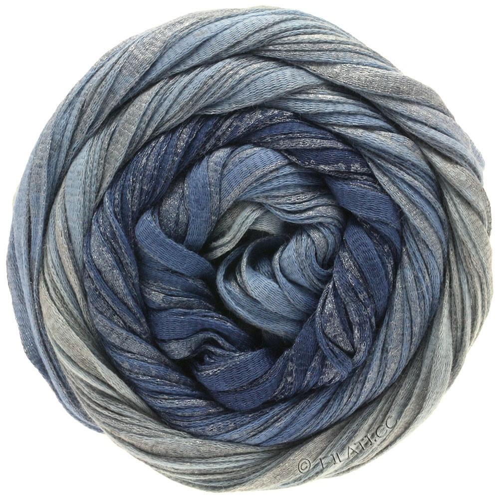 Lana Grossa ROMA Degradé | 303-jeans/pigeon blue/silver