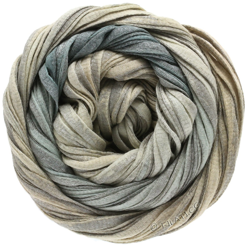 Lana Grossa ROMA Degradé | 304-natural/gray/silver