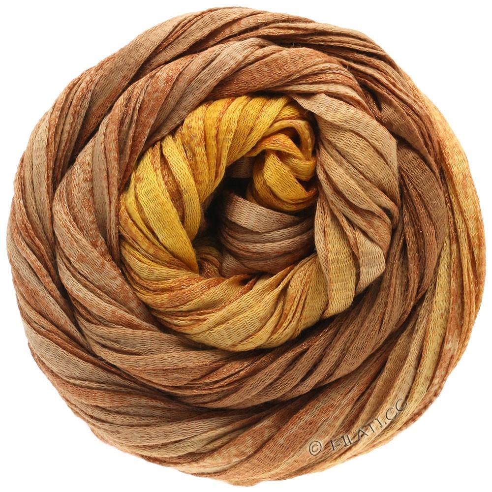 Lana Grossa ROMA Degradé | 308-golden brown/cinnamon brown/copper