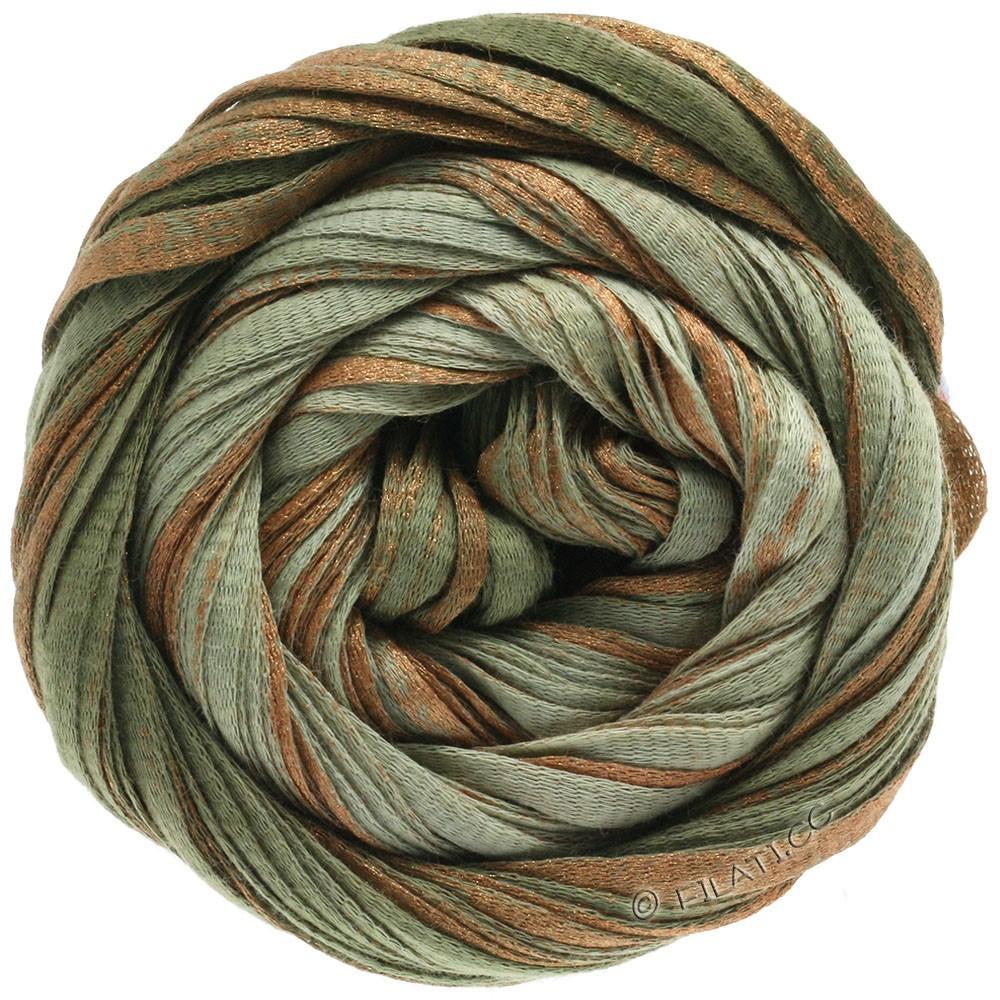Lana Grossa ROMA Degradé | 309-gray green/hay green/copper