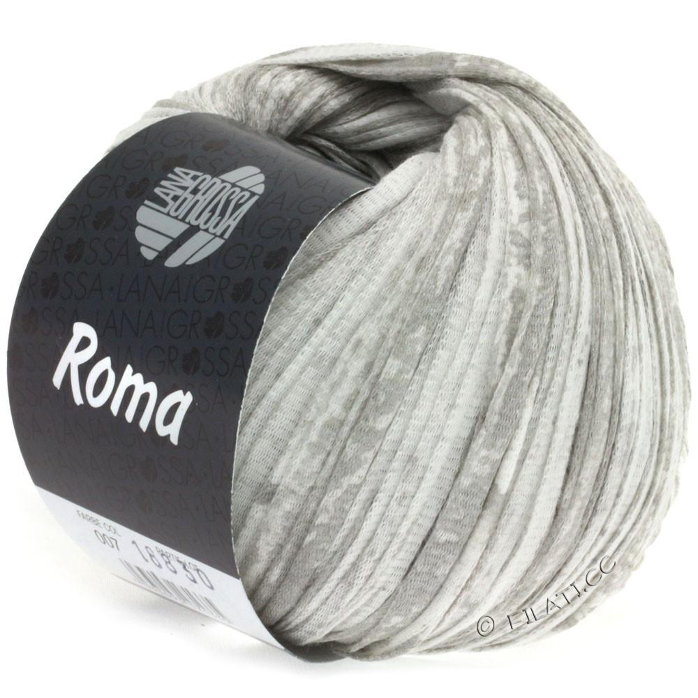 Lana Grossa ROMA | 007-white/silver