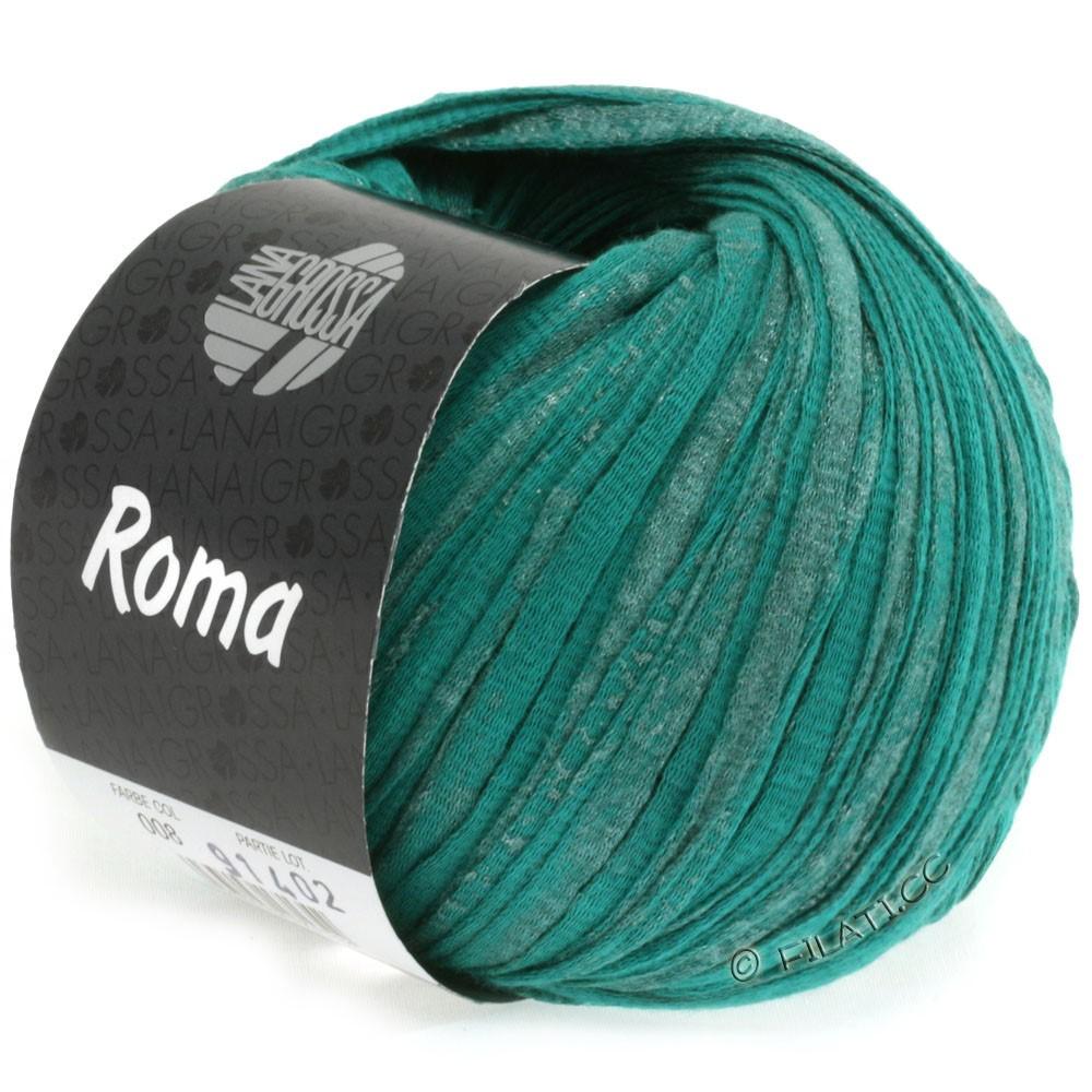 Lana Grossa ROMA | 008-opal green/silver