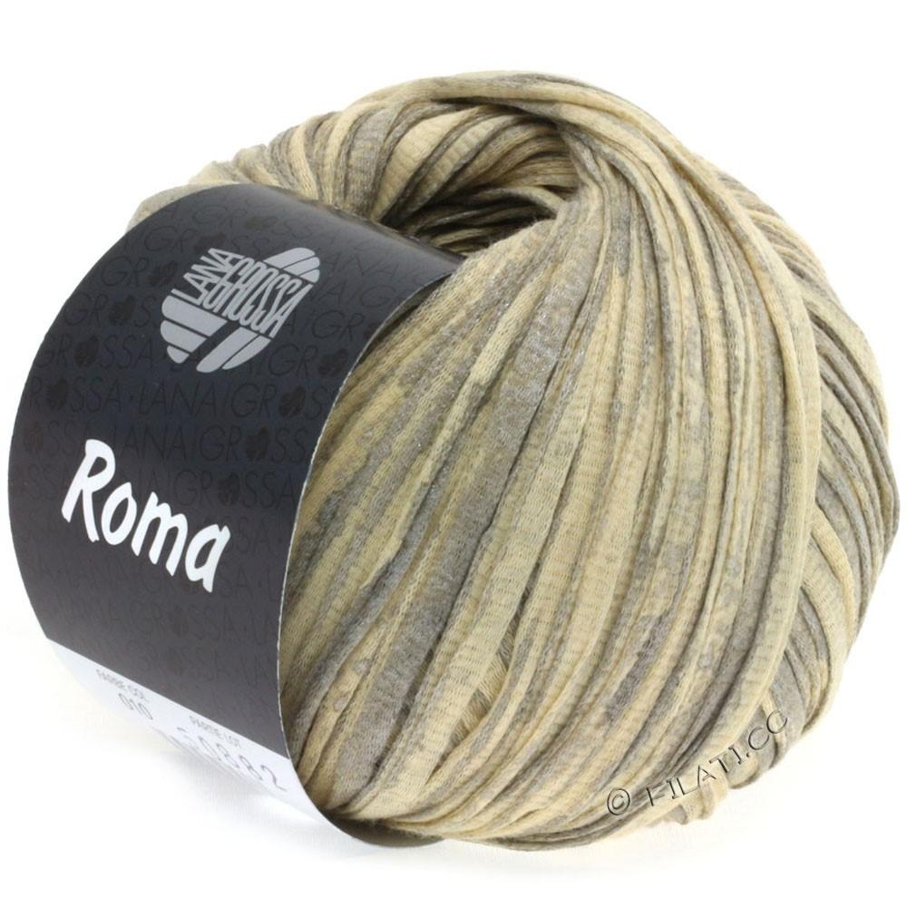 Lana Grossa ROMA | 010-beige/silver