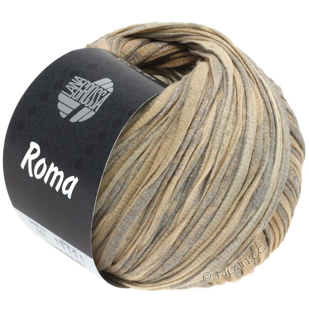 Lana Grossa ROMA | 101-beige/peach/silver