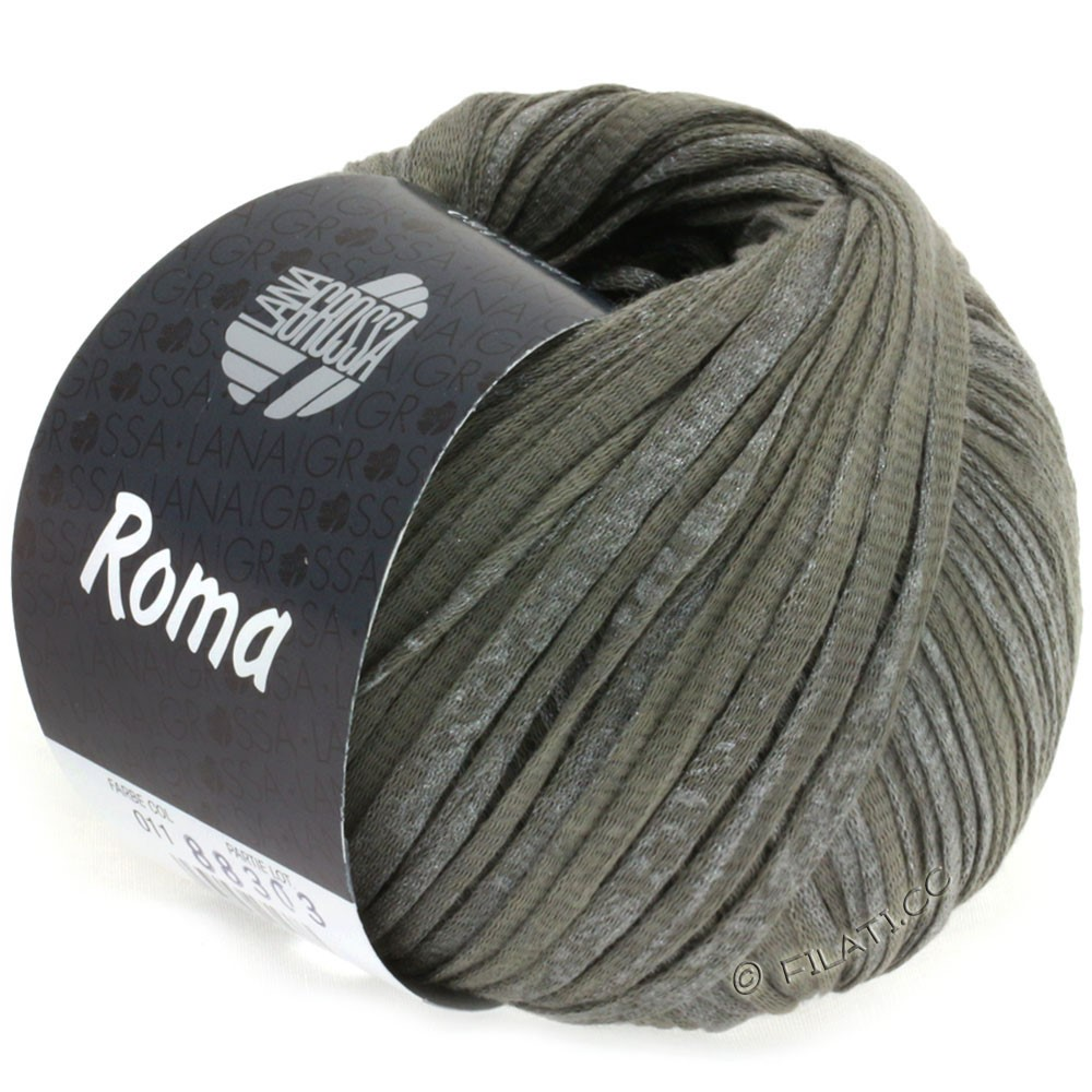 Lana Grossa ROMA/ROMA Degradè | 011-dark gray/silver