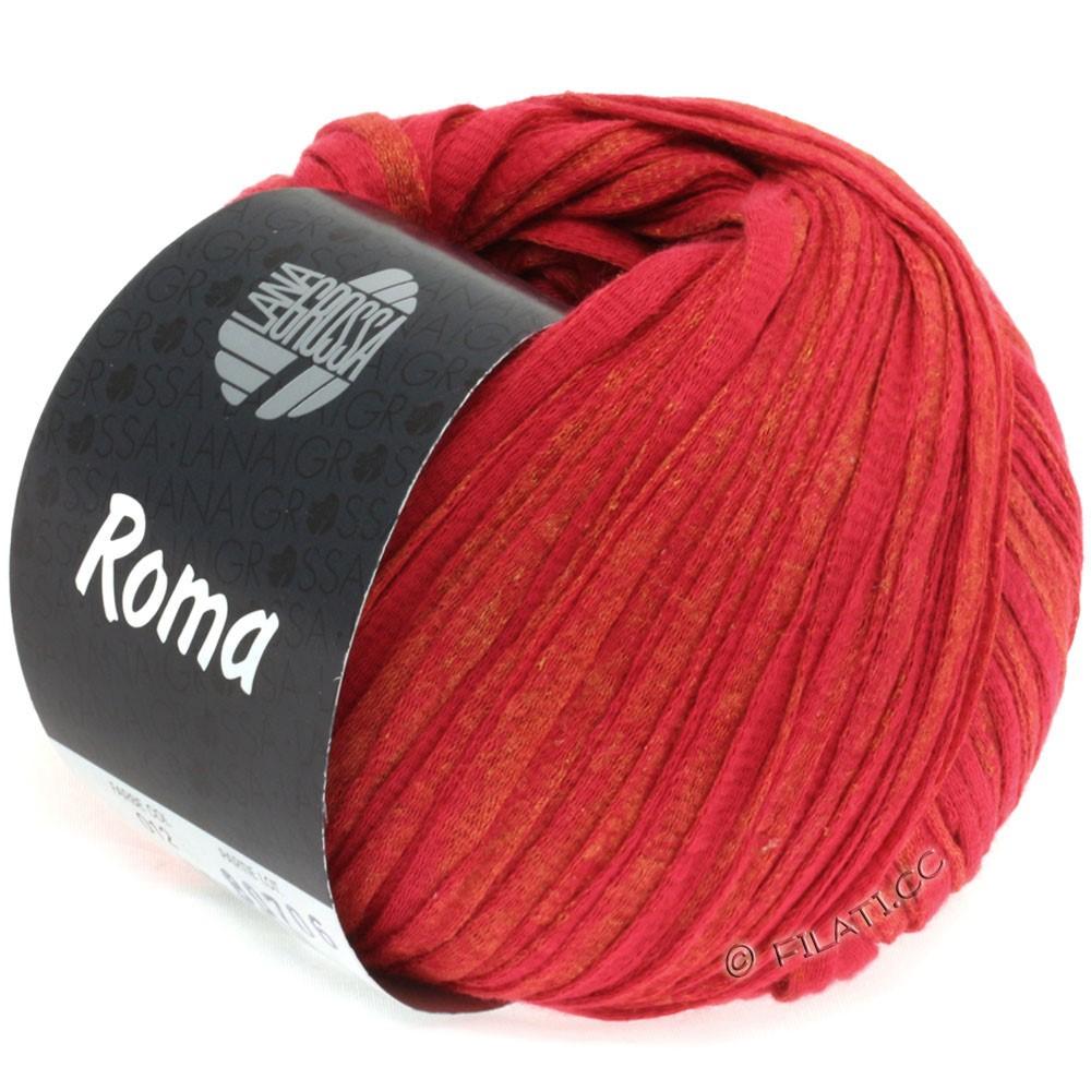 Lana Grossa ROMA | 012-red/gold