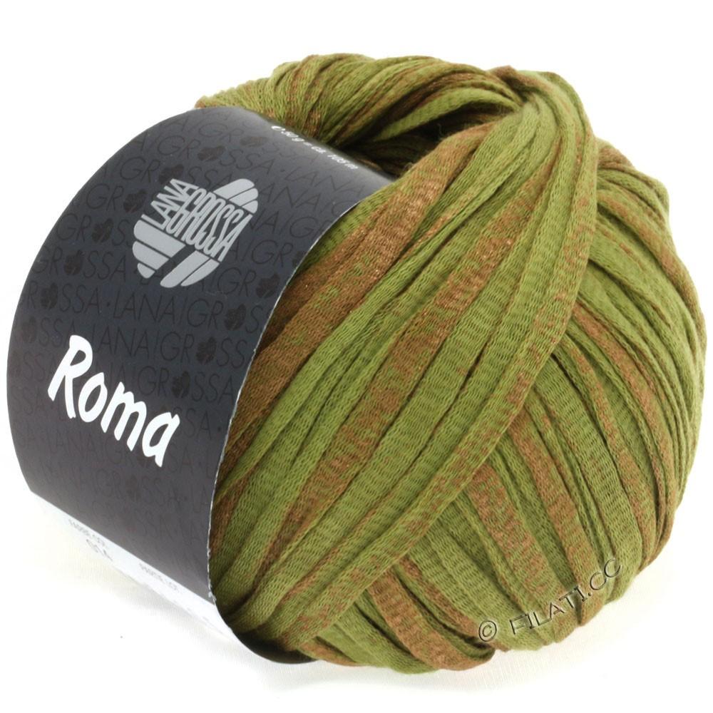 Lana Grossa ROMA | 014-olive/copper
