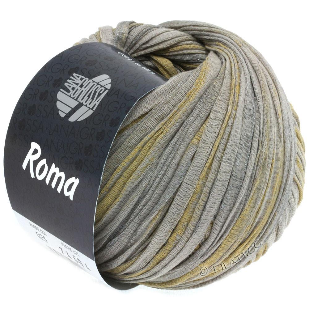 Lana Grossa ROMA | 025-beige/silver/gold