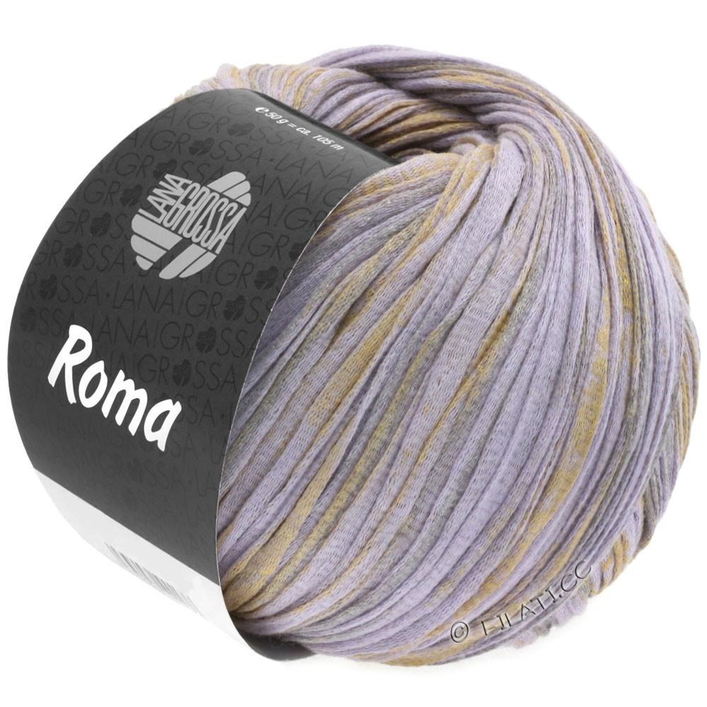 Lana Grossa ROMA | 026-purple/gold/silver