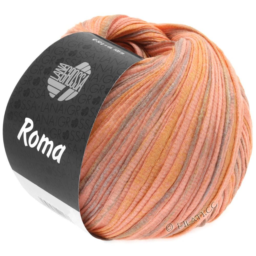 Lana Grossa ROMA | 030-salmon/golden/silver