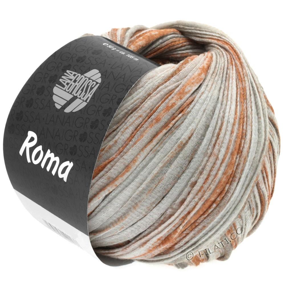 Lana Grossa ROMA | 033-white/copper/silver