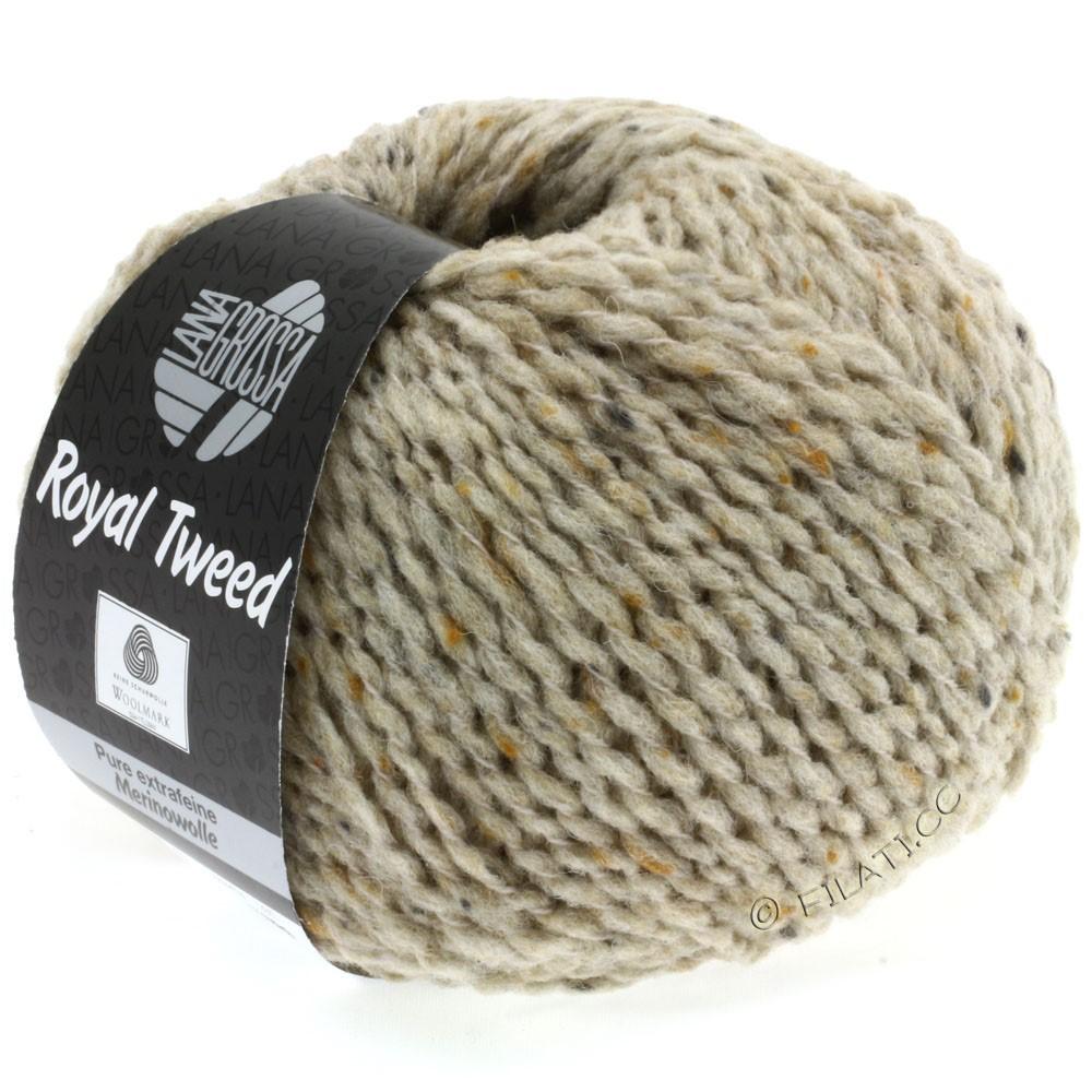 Lana Grossa ROYAL TWEED | 08-light beige mix