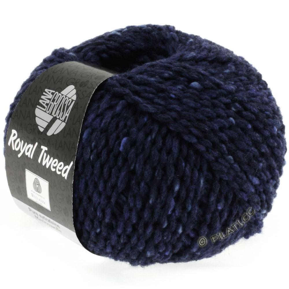 Lana Grossa ROYAL TWEED | 11-navy mix