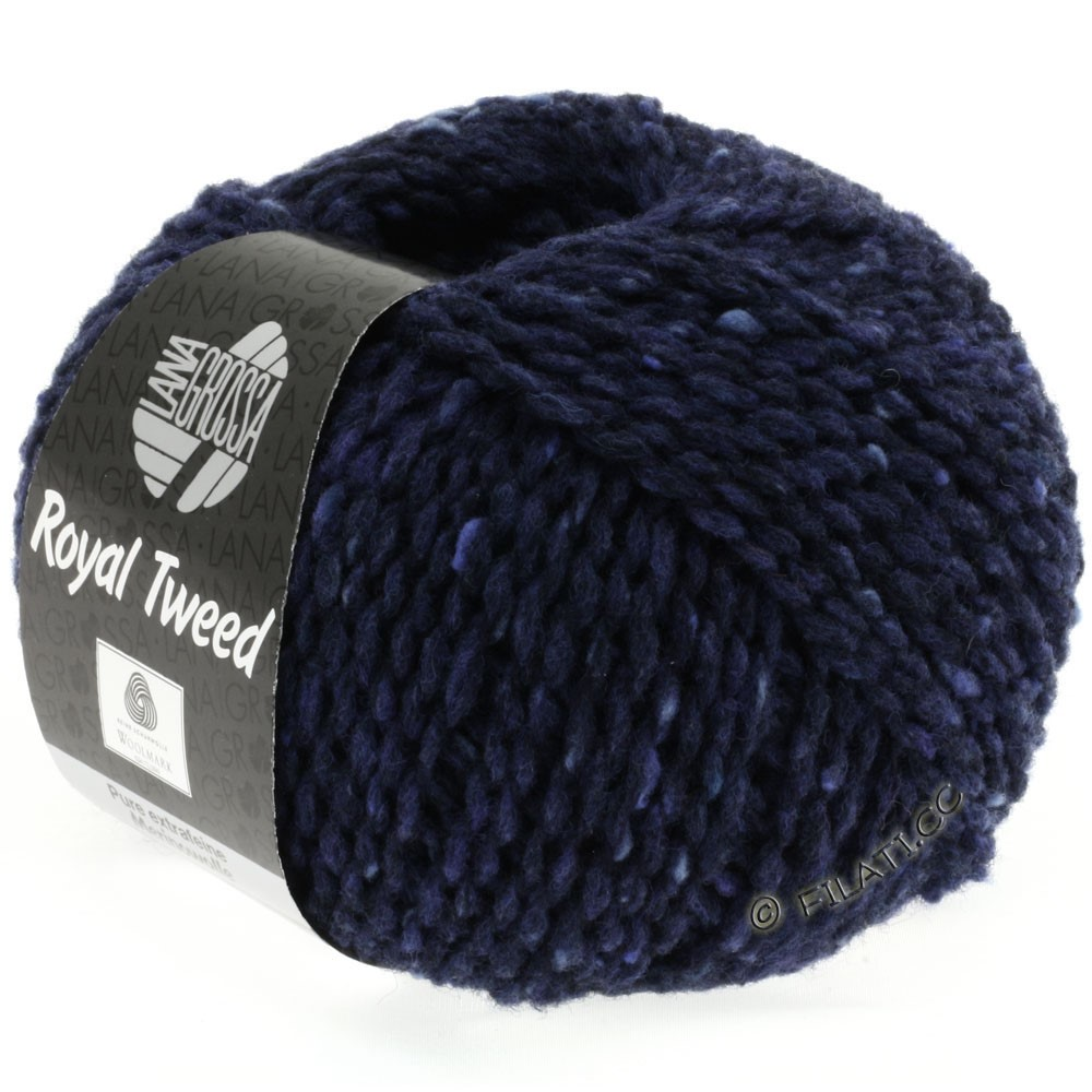 Lana Grossa ROYAL TWEED | 11-navy mix
