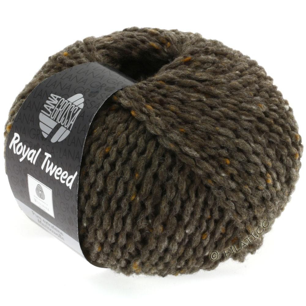 Lana Grossa ROYAL TWEED | 12-gray brown mix