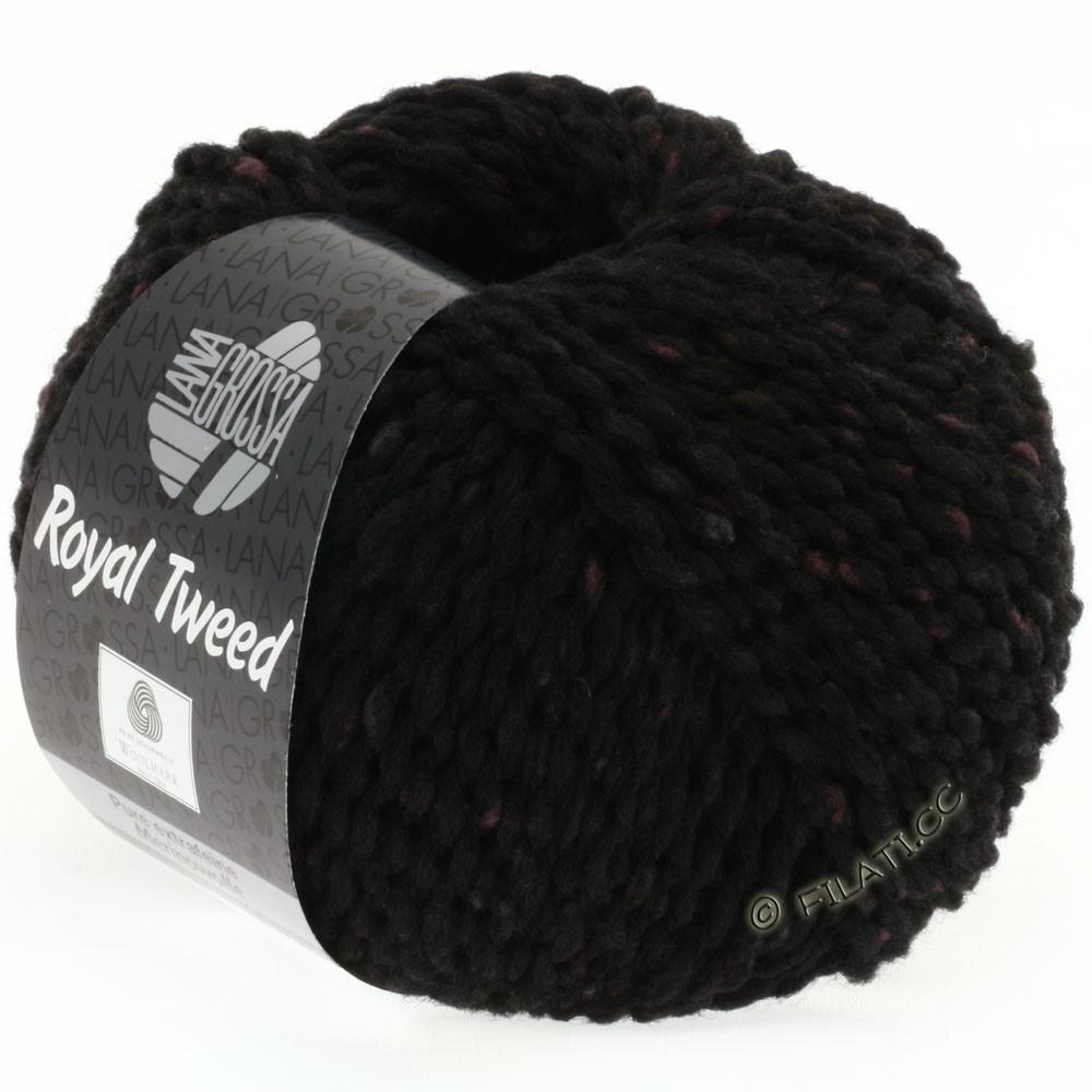 Lana Grossa ROYAL TWEED | 20-black