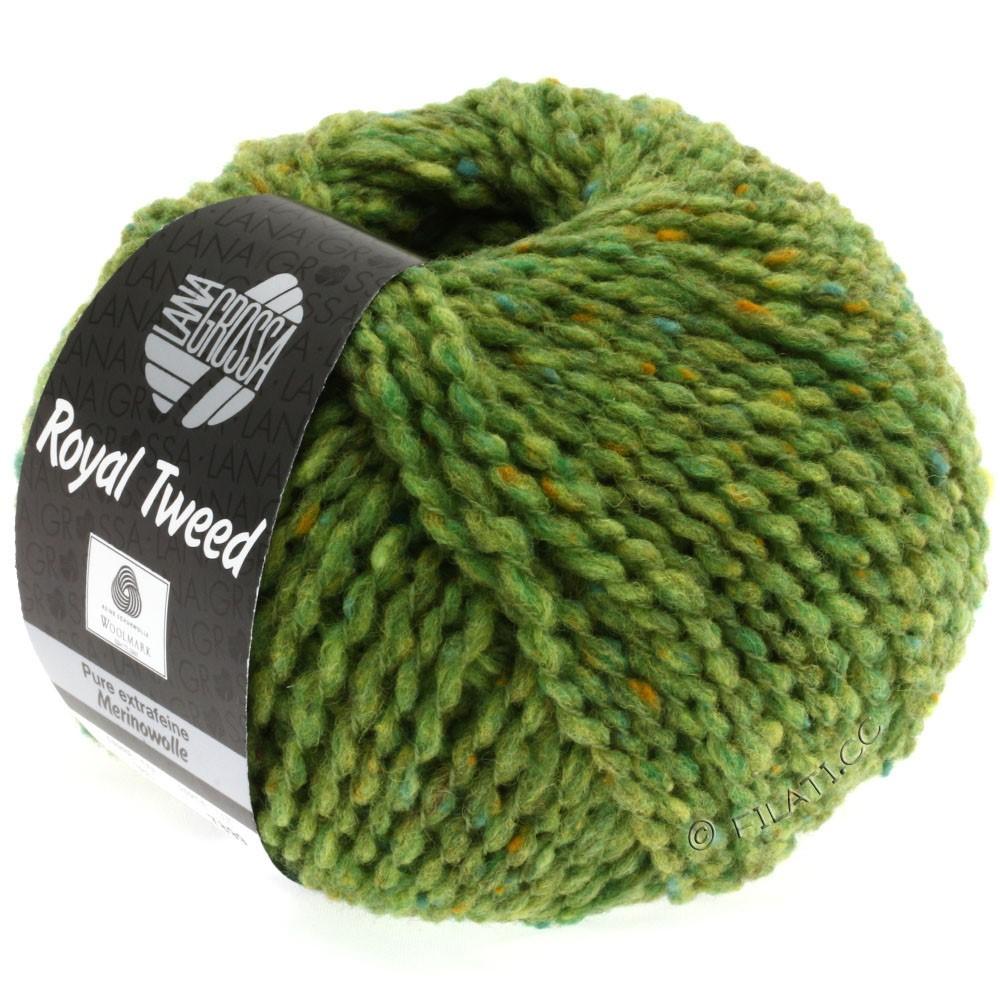 Lana Grossa ROYAL TWEED | 52-light green mix