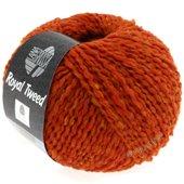 Lana Grossa ROYAL TWEED | 57-orange red mix