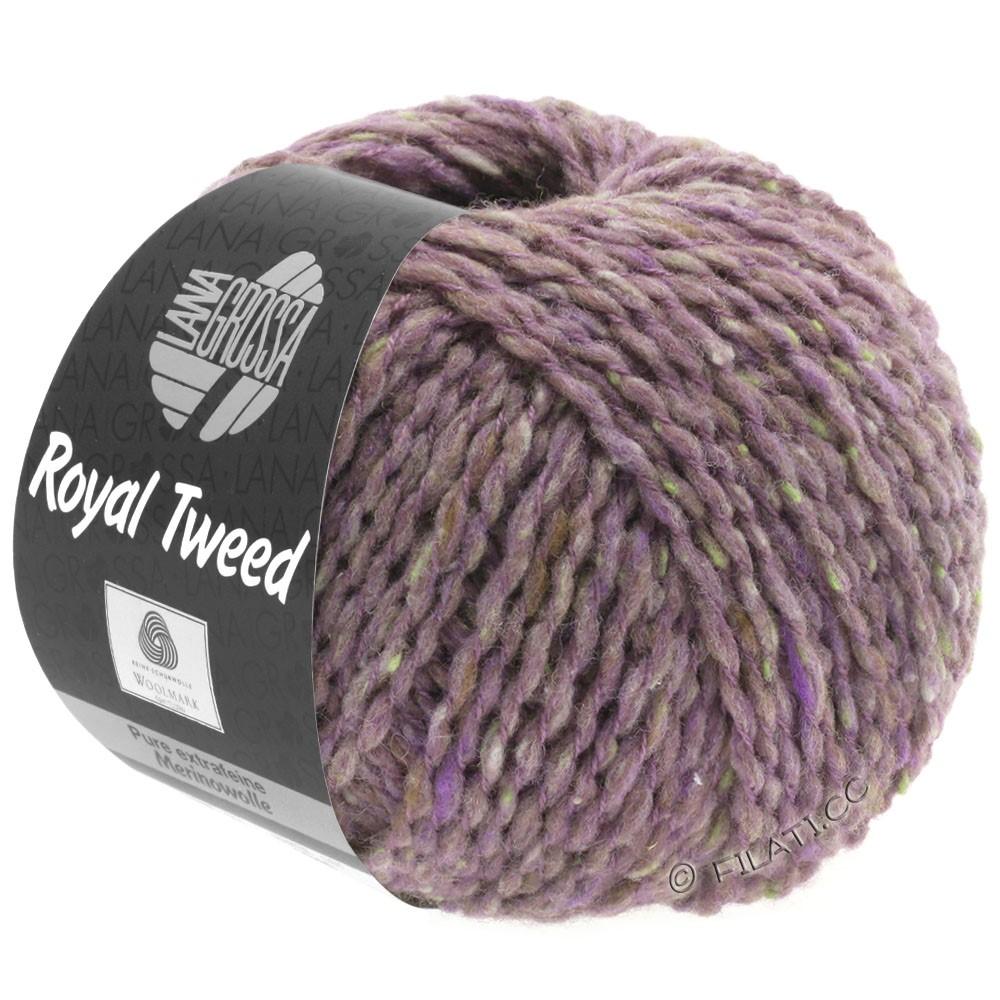 Lana Grossa ROYAL TWEED | 65-lilac/grège