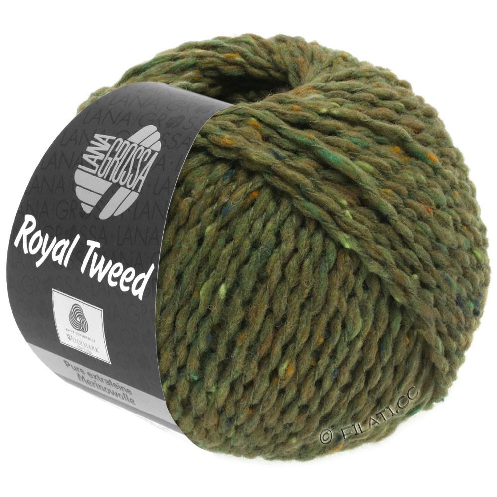 Lana Grossa ROYAL TWEED | 69-olive mottled