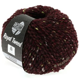 Lana Grossa ROYAL TWEED | 71-burgundy mottled