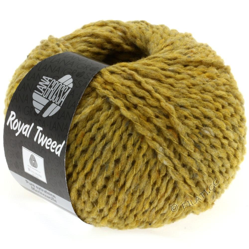 Lana Grossa ROYAL TWEED | 73-mustard mottled