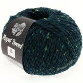 Lana Grossa ROYAL TWEED | 76-black green mix