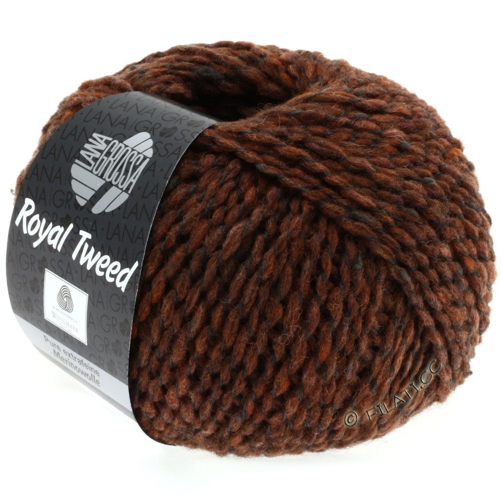 Lana Grossa ROYAL TWEED | 78-cinamon mix