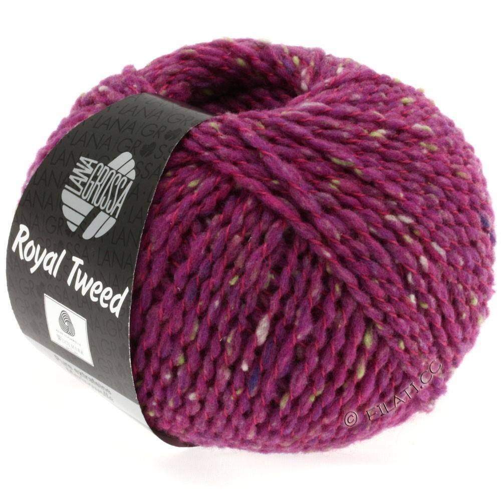Lana Grossa ROYAL TWEED | 79-zyklamen mix