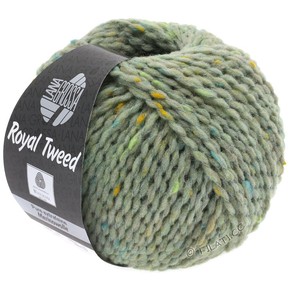 Lana Grossa ROYAL TWEED | 83-mint mottled