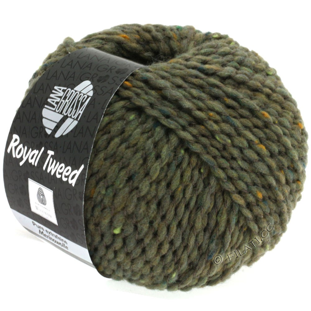 Lana Grossa ROYAL TWEED | 84-mud mix