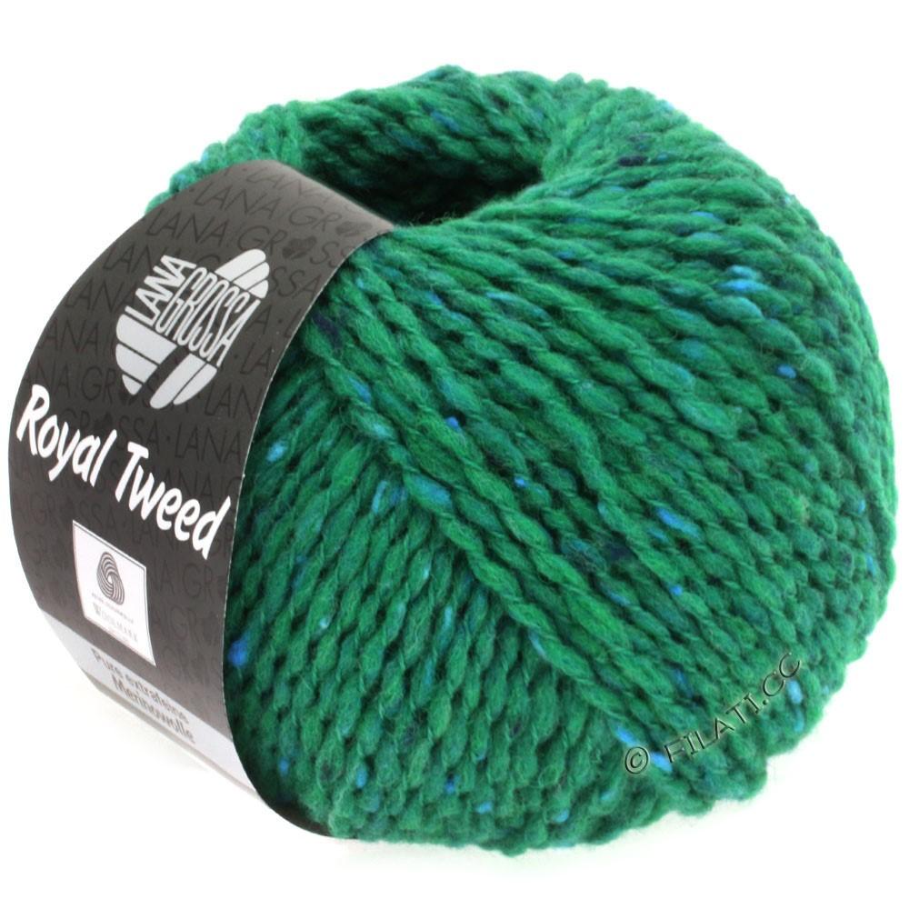 Lana Grossa ROYAL TWEED | 85-emerald mottled