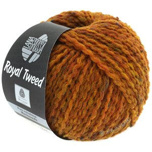Lana Grossa ROYAL TWEED | 86-golden brown mottled