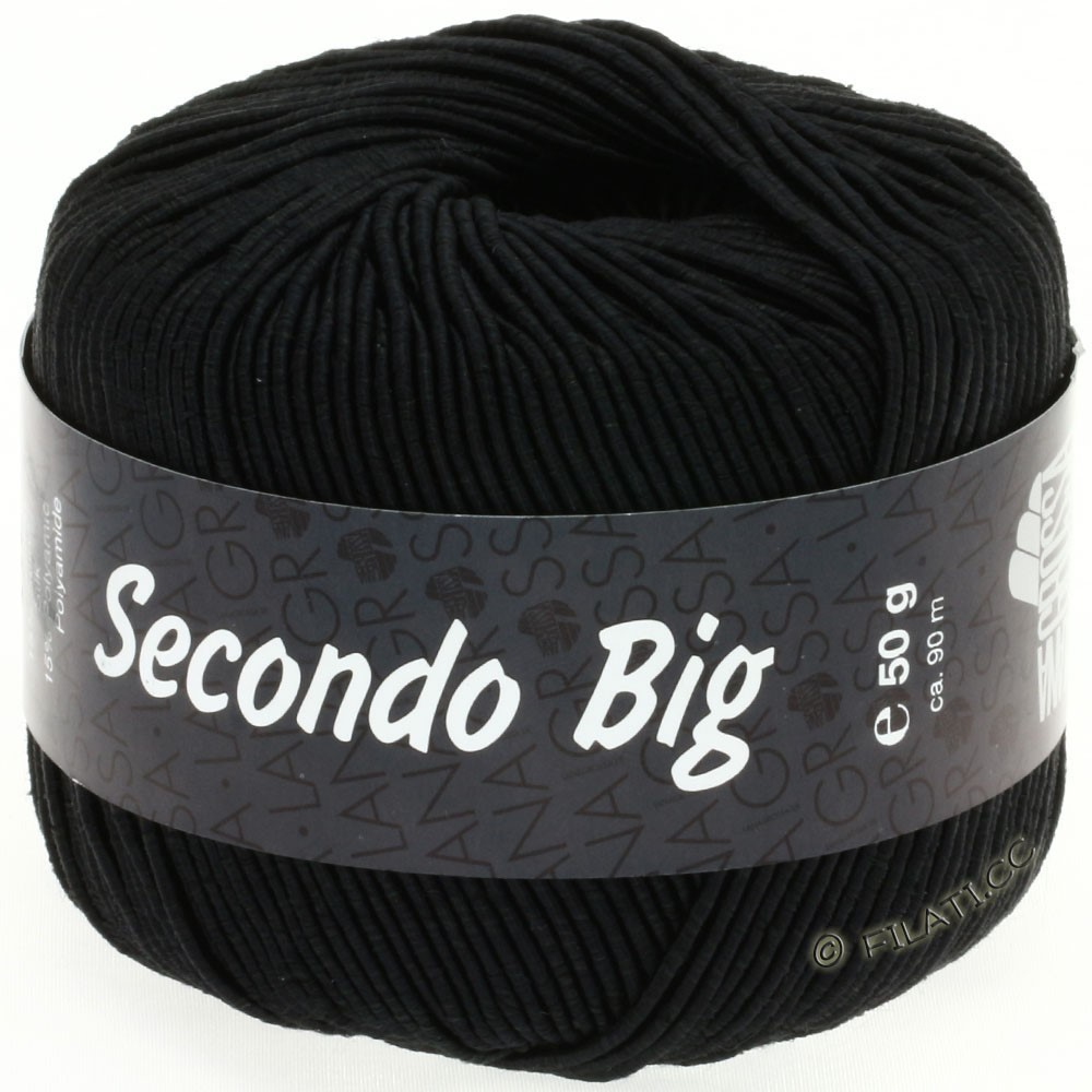 Lana Grossa SECONDO Big | 607-black