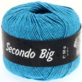 Lana Grossa SECONDO Big | 610-turquoise blue