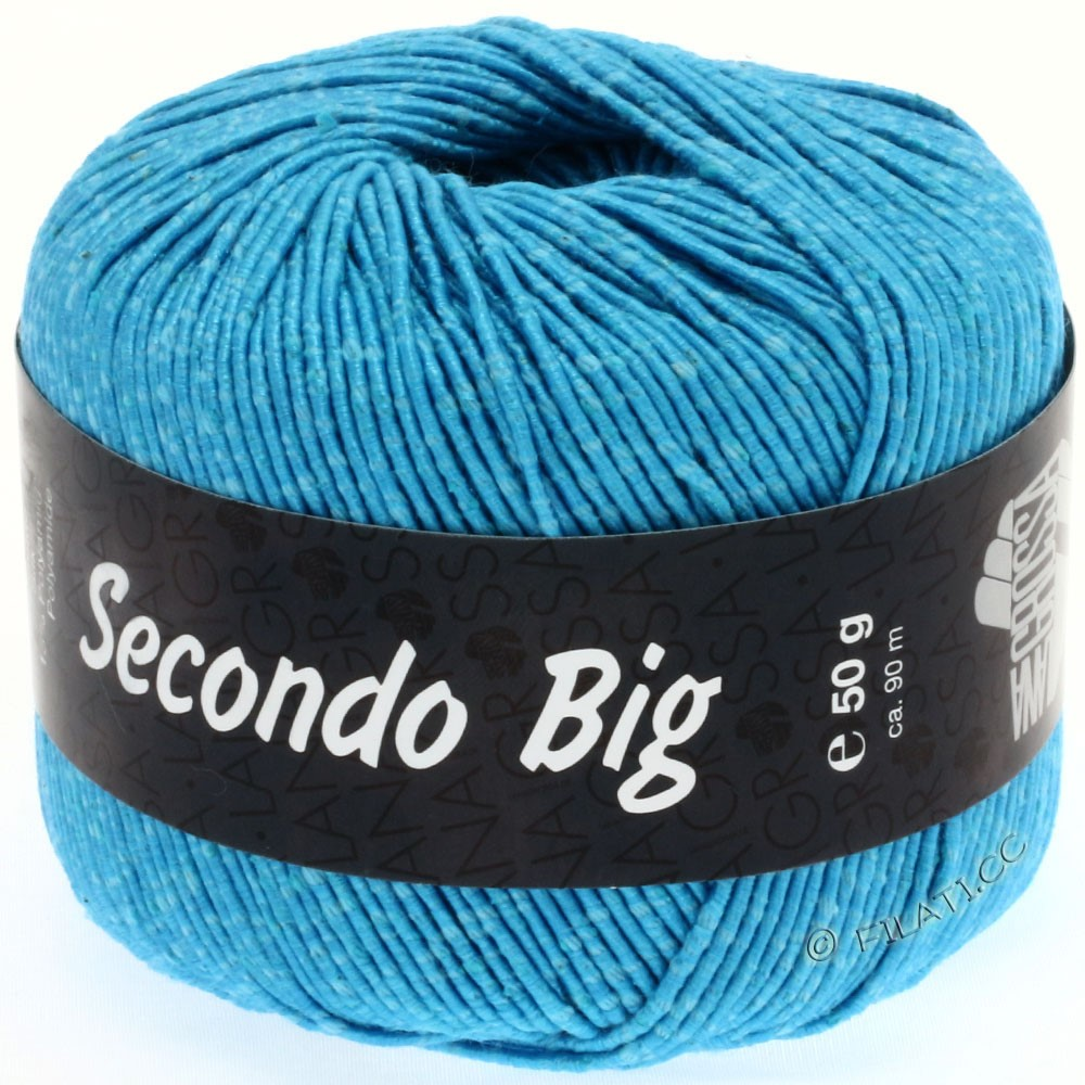 Lana Grossa SECONDO Big | 610-turquoise