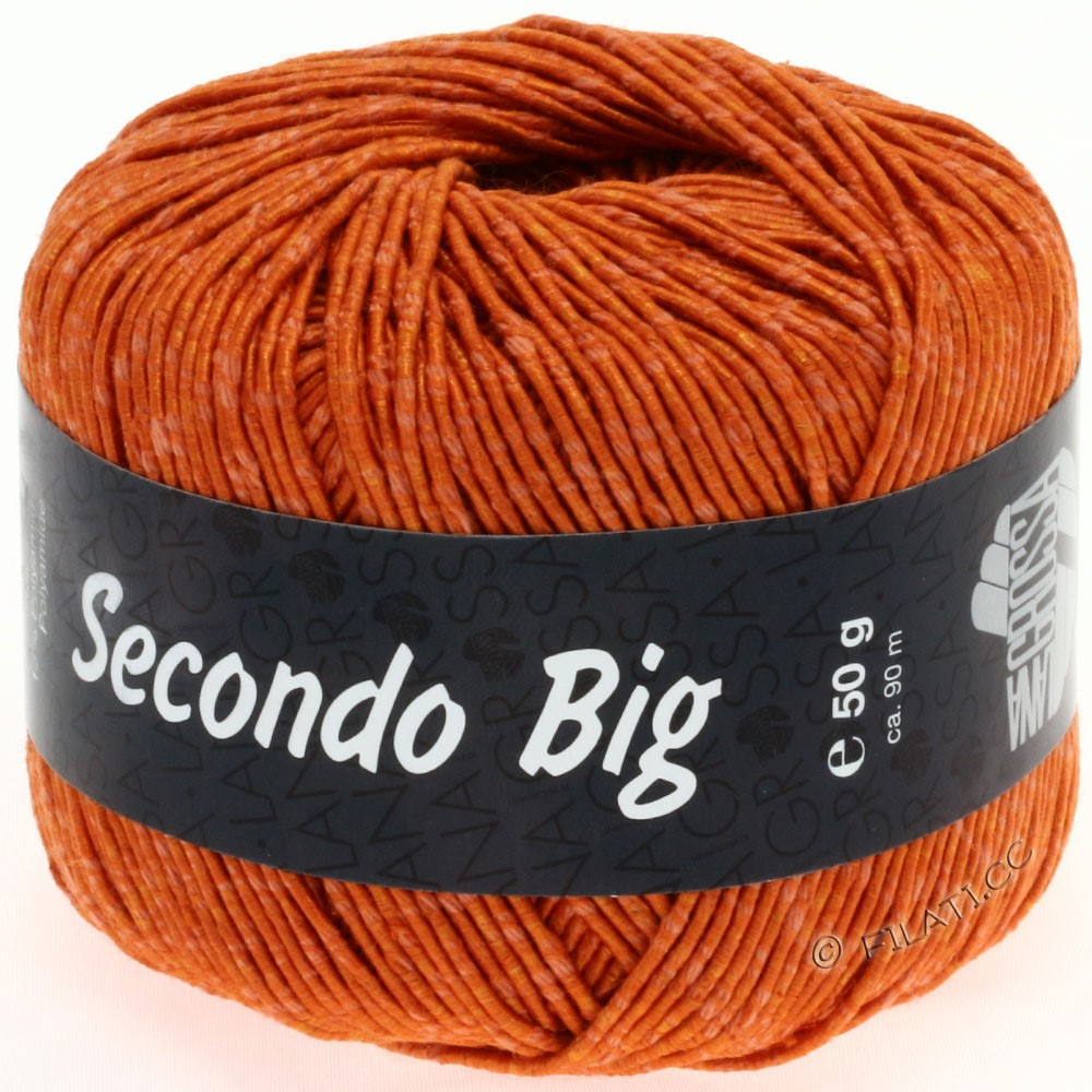 Lana Grossa SECONDO Big | 614-orange
