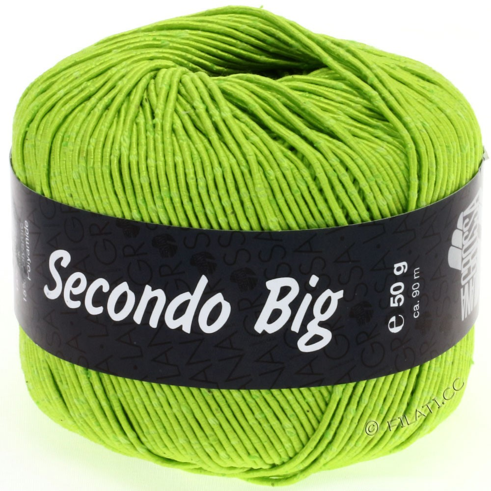 Lana Grossa SECONDO Big | 621-yellow green
