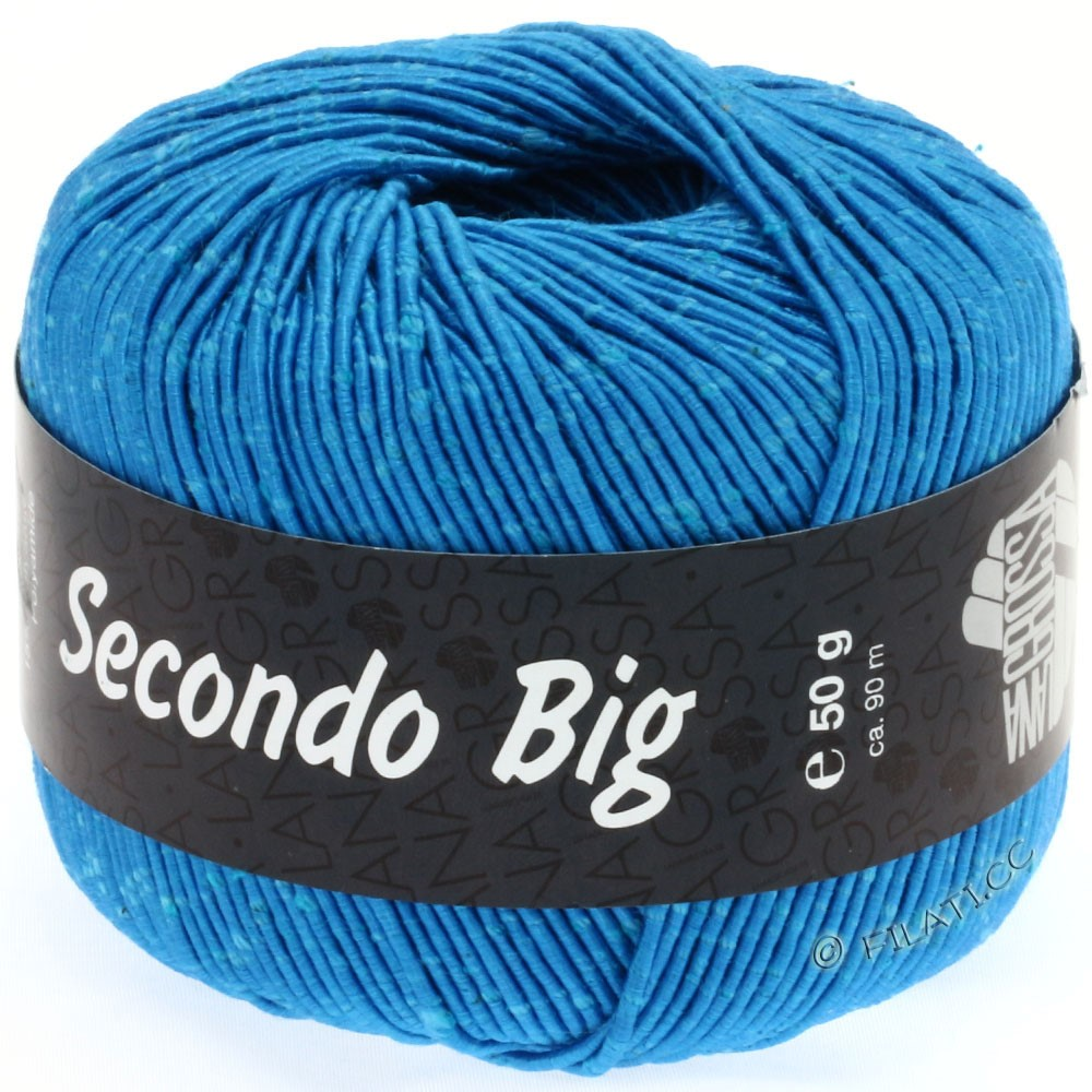Lana Grossa SECONDO Big | 623-turquoise blue