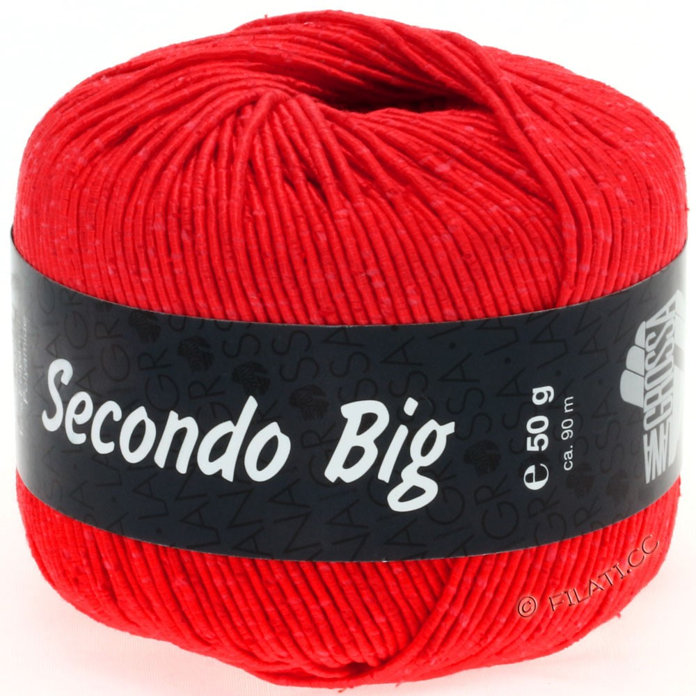Lana Grossa SECONDO Big | 626-bright red