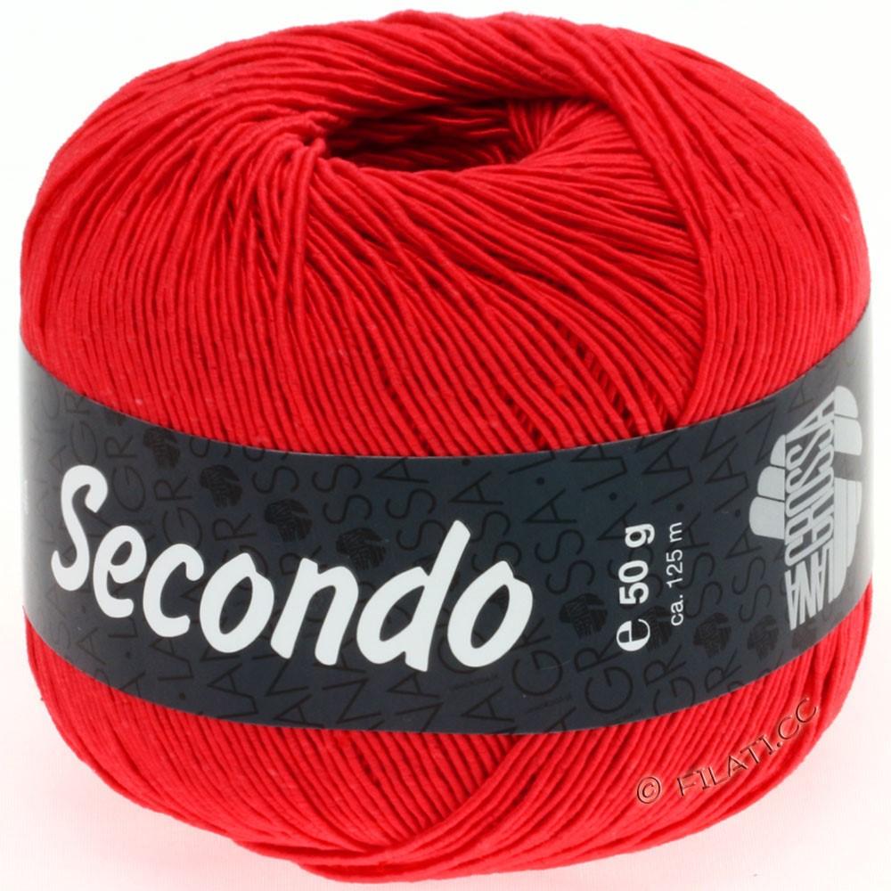 Lana Grossa SECONDO | 55-luminous red