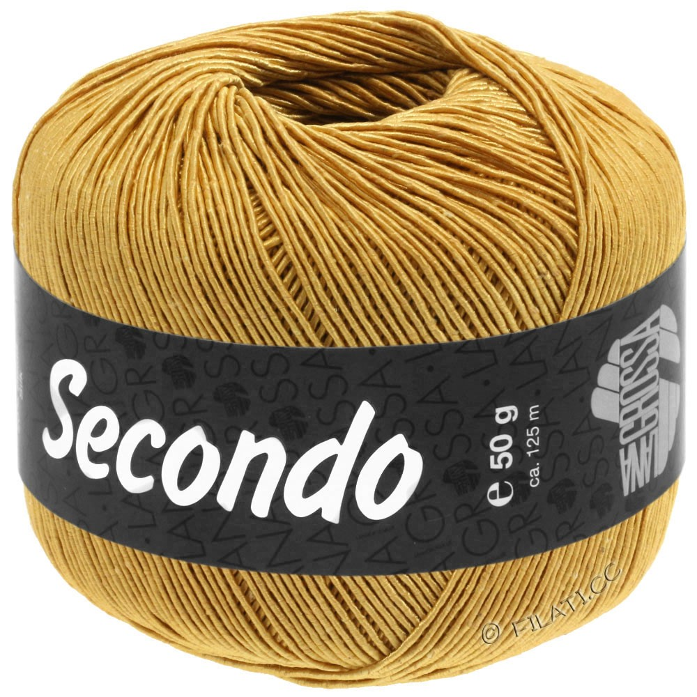 Lana Grossa SECONDO | 81-golden yellow
