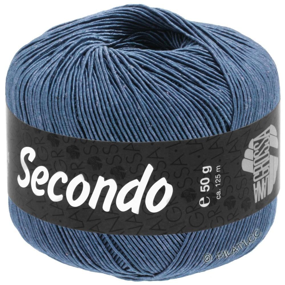 Lana Grossa SECONDO | 84-steel blue