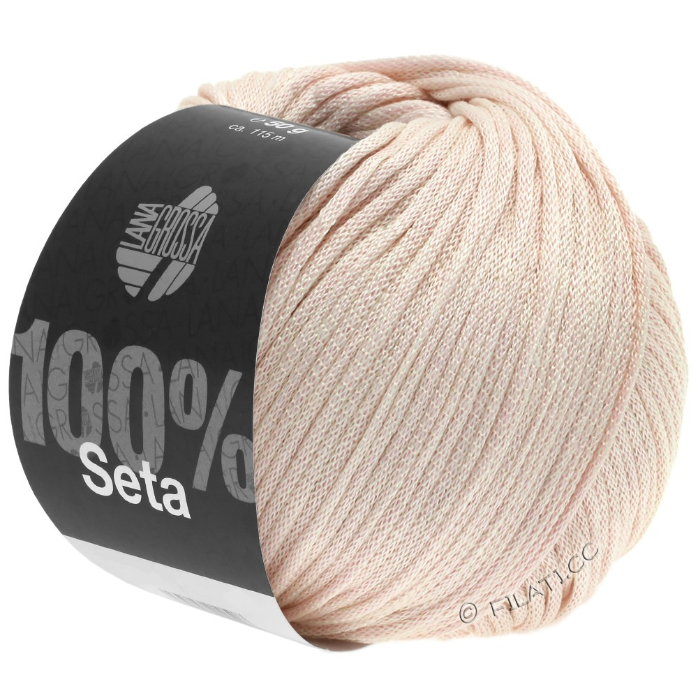 Lana Grossa SETA | 02-pale rose