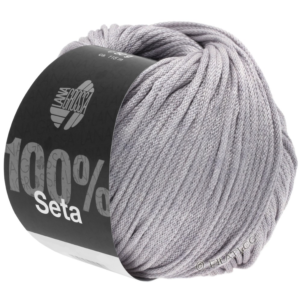 Lana Grossa SETA | 04-gray lilac